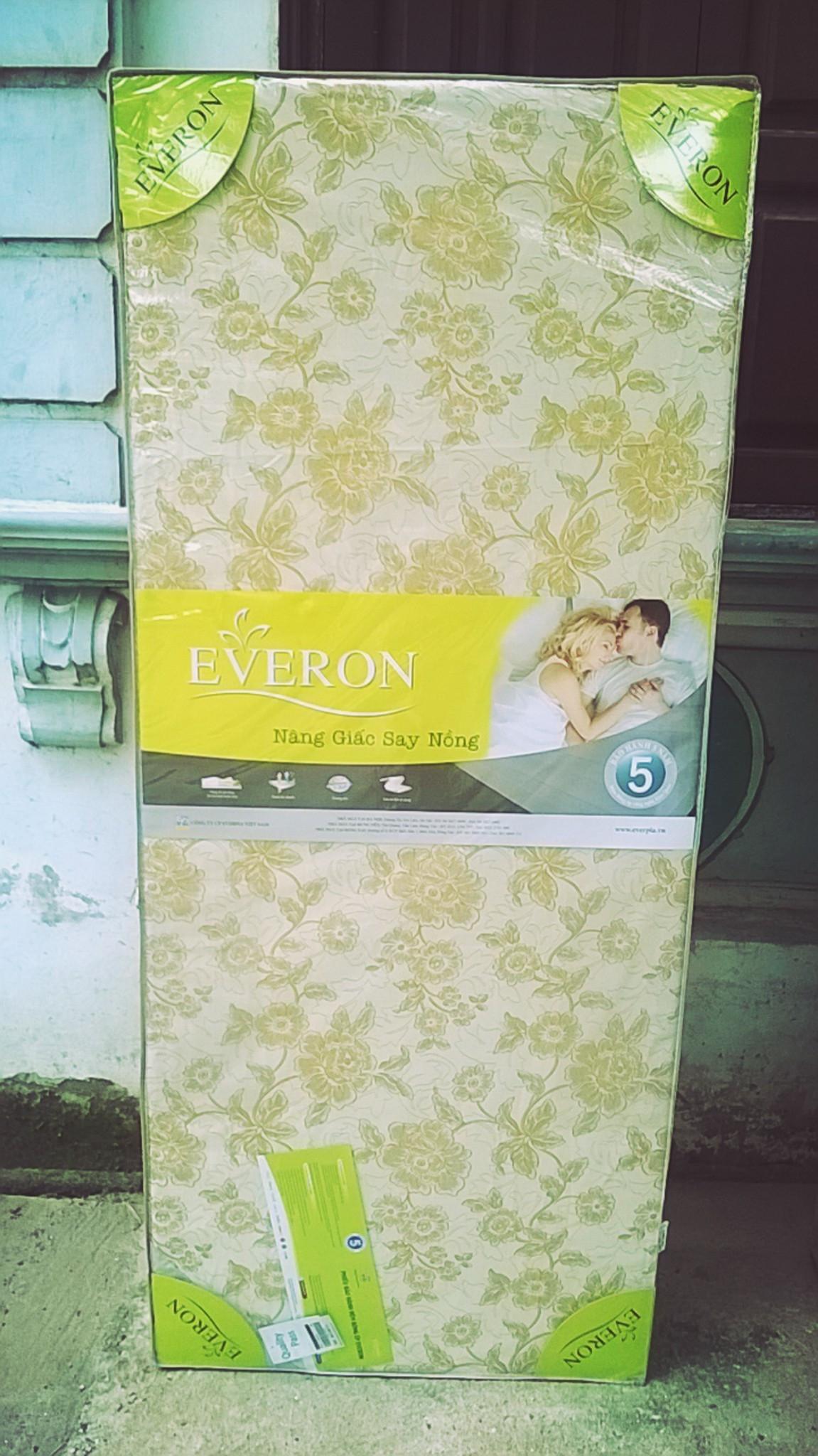 Đệm bông ép Everon 180 x 200 x 5 cm