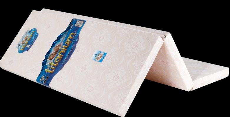 Đệm cao su bông kim cương Titanium kích thước 120*190*9cm
