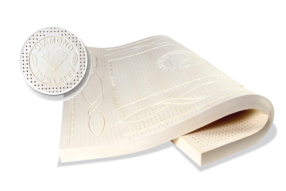 Đệm cao su Kim cương Diamond Luxury 160*200*5cm
