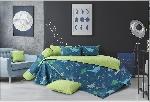 Bộ chăn ga gối Blue Sky Cotton T - DL162