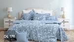 Bộ chăn ga gối Blue Sky Cotton T - DL176