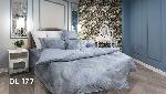 Bộ chăn ga gối Blue Sky Cotton T - DL177