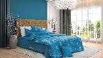 Bộ chăn ga gối Blue Sky Cotton T - DL179